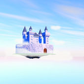 Castle in the air — Stock Photo
