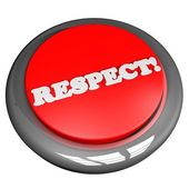 Respect button — Stock Photo