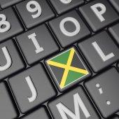 Jamaica key — Stock Photo