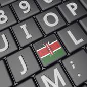 Kenya key — Stock Photo