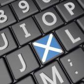 Scotland key — Stock Photo