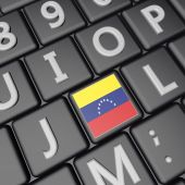 Venezuela key — Stock Photo