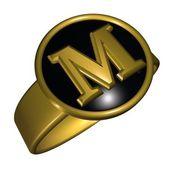 M letter — Stock Photo