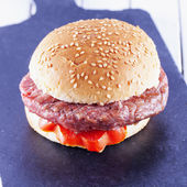 Hamburger sandwich — Stock Photo
