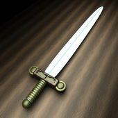 Ancient sword — Stock Photo