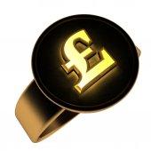 Pound ring — Stock Photo