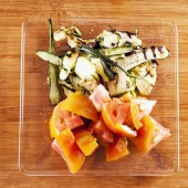 Tomatoes and zucchini — Stock Photo