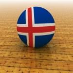 Iceland basketball — Stock Photo #83471400