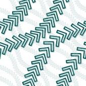 Seamless arrow pattern — Stock Vector