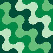 シームレスな水の波のパターン — ストックベクタ