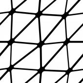Seamless mesh pattern — Stock Vector