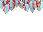 Balloon frame with flag of mongolia — 图库照片