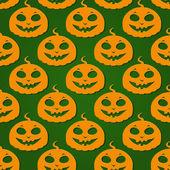 Halloween Pumpkin Seamless Pattern — Stock Vector