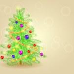 Detailed Christmas Tree — Stock Vector #58501149