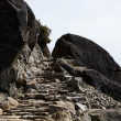 Stone Staircase Carved Into Granite Rock Trail — Stock Photo #70221643