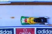 Bobsleigh World Cup  Calgary  Canada   2014 — Foto de Stock