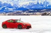 Buz üzerinde yarış — Stok fotoğraf