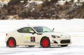 Racing On Ice — Stock Photo