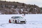 Corse sul ghiaccio — Foto Stock