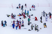 FIS Freestyle Ski World Cup - 2015   Calgary — Stock Photo