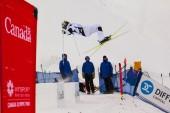 FIS Freestyle Ski World Cup - 2015 Calgary — Zdjęcie stockowe