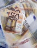 Měna rotace — Stock fotografie