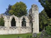 St Marys Abbey ruins — Stock Photo