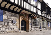 York Tudor Building — Stock Photo