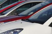 Parked cars — Stok fotoğraf