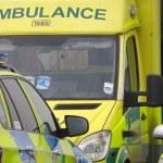 Ambulance vehicles — Stock Photo #69992947