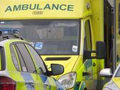 Veículos de ambulância — Fotografia Stock