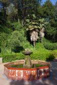 Montjuic Garden Fountain in Barcelona — Stock Photo