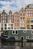 Città di amsterdam in olanda — Foto Stock