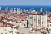 Barcelona-stadtansicht — Stockfoto