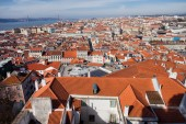 View Over City of Lisbon in Portugal — Stock Photo
