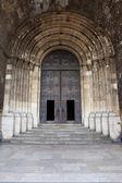 Entrada a la Catedral de Lisboa — Foto de Stock