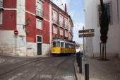 Lisbon Tram Route 12 in Portugal — Stock Photo
