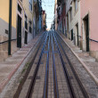 Bica Funicular in Lisbon — Stock Photo #56737805