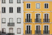 Traditional Row Houses in Lisbon — Stock Photo
