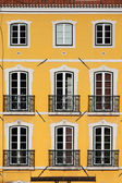 Building with Yellow Facade — Foto de Stock