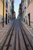 Bica Funicular in Lisbon — Stock Photo
