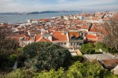 City of Lisbon in Portugal — Stock Photo