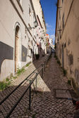 Uphill in Lisbon — Foto de Stock