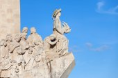 Monument to the Discoveries in Lisbon — Stock Photo