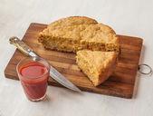 Torta de vegetal — Foto Stock