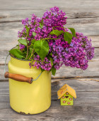 Bouquet of lilac — Stock Photo
