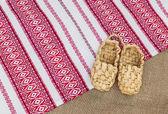 Bast ayakkabı — Stok fotoğraf