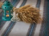 Angel lantern and Didukh (diduch) — Foto de Stock