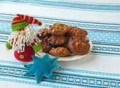 Baking  for St. Nicholas holiday — Foto de Stock