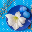 Easter table setting — Stock Photo #66984077